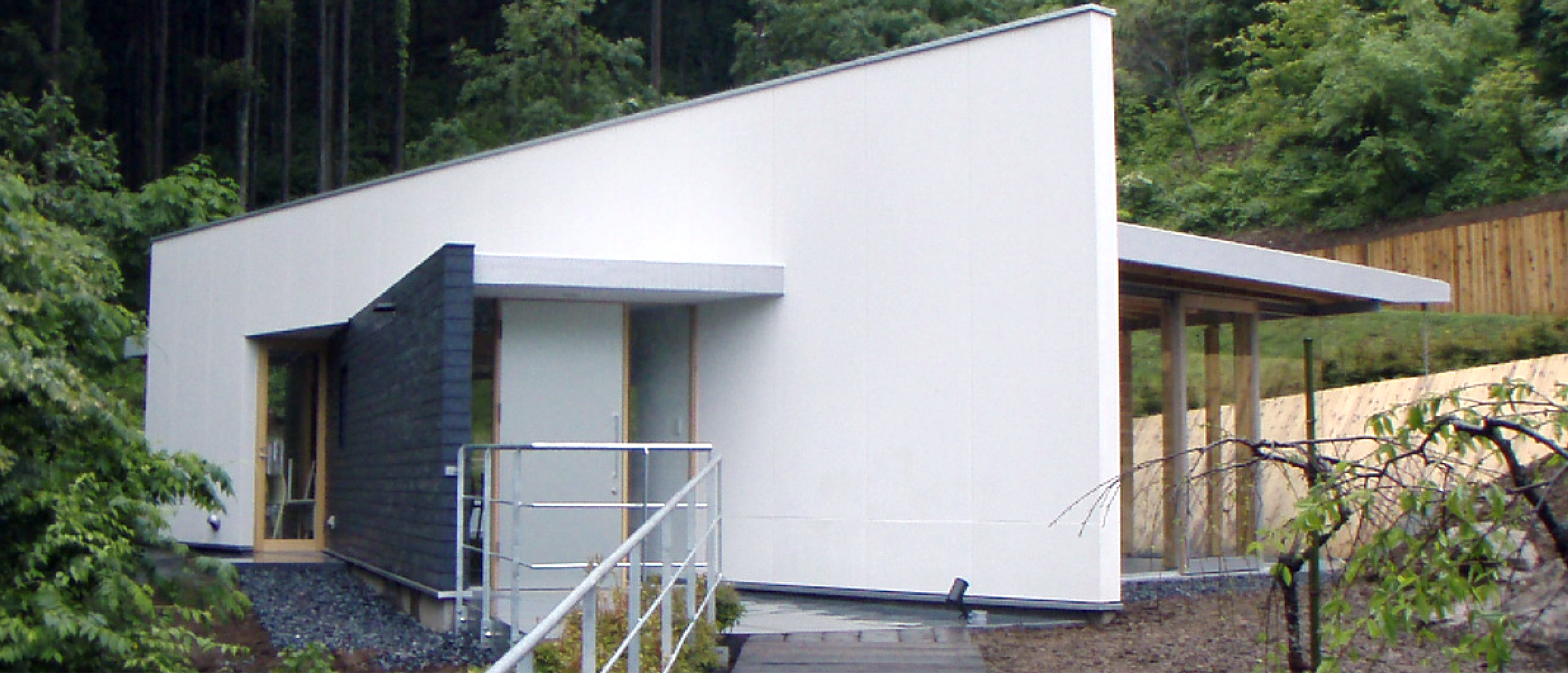 森林活動拠点施設 (セラピーステーション・ランドスケーブ) [奥多摩町]