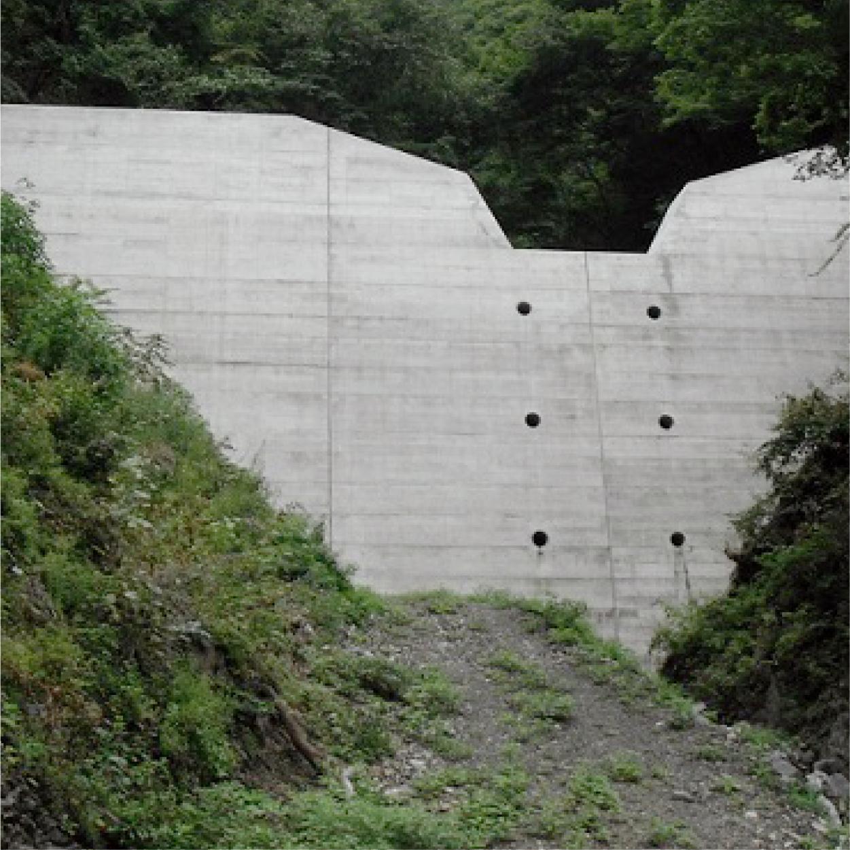 砂防ダム工事
