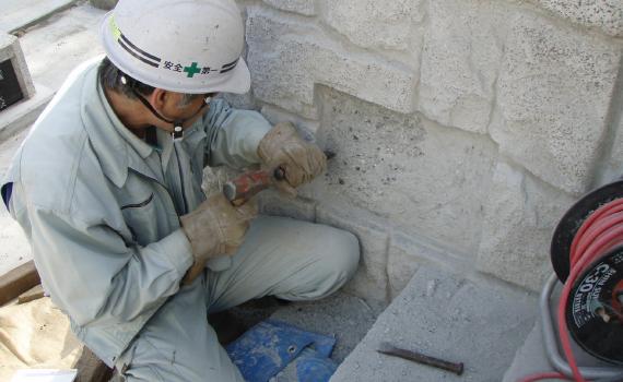 奥多摩の町への地域貢献「寺社の改修」-03
