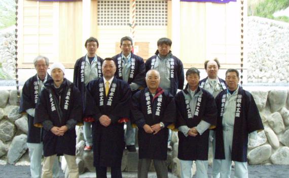 奥多摩の町への地域貢献「寺社の改修」-07